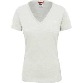 The North Face Simple Dome SS Tee Women Wild Oat Heather